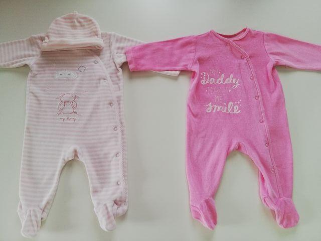 2 Pijamas y 8 bodis PRIMARK, talla 3-6 meses