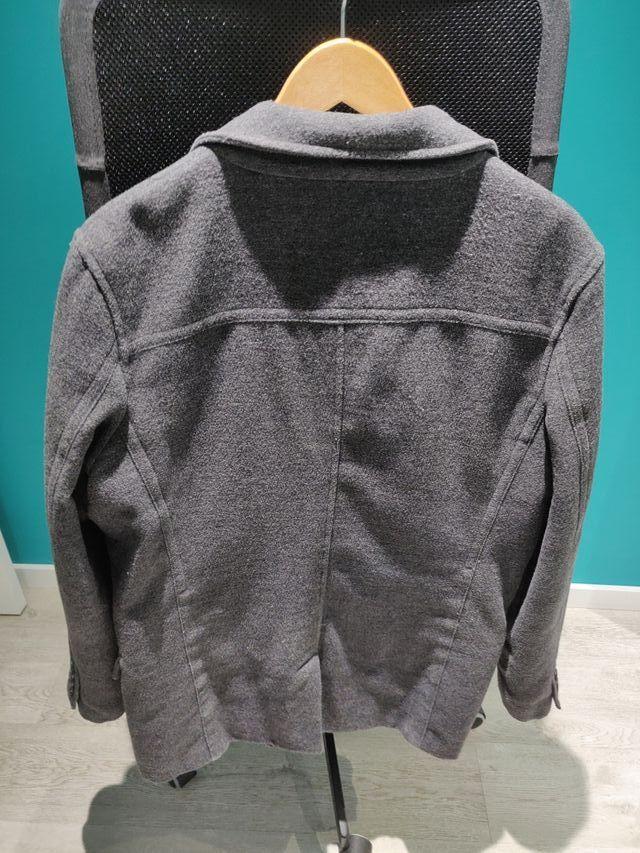 Abrigo gris - VENTA SOLIDARIA