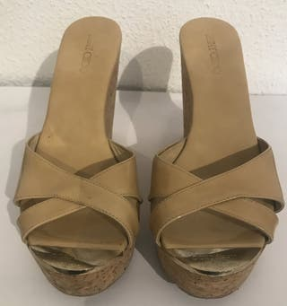 Sandalias jimmy Choo color Beige