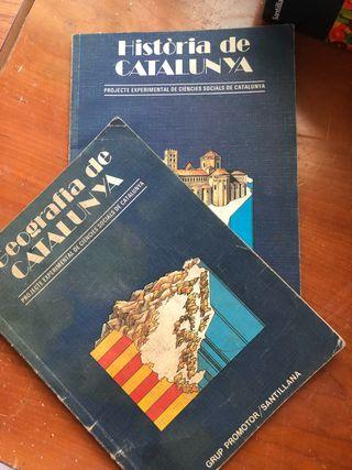 Historias de Cataluña y atlas universal
