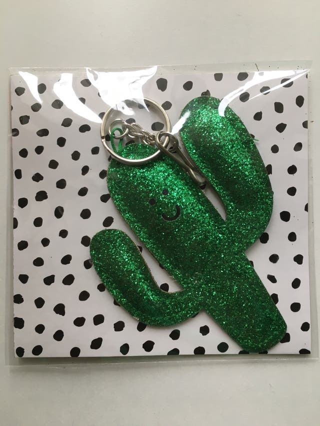 Brand New Cactus Key Chain