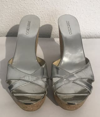 Sandalias jimmy Choo color plata