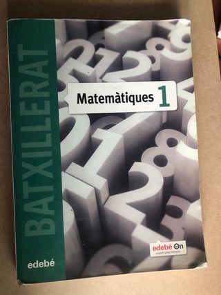 Libro matemáticas bachillerato científico/ tecnolo