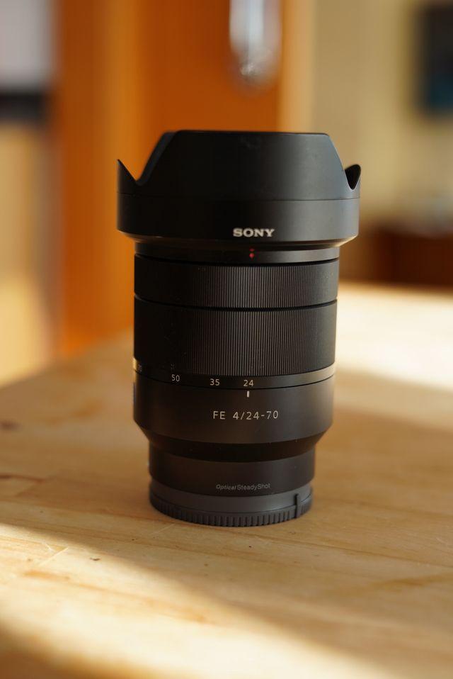 Objetivo Sony zeiss 24-70 f4 montura E FULL FRAME