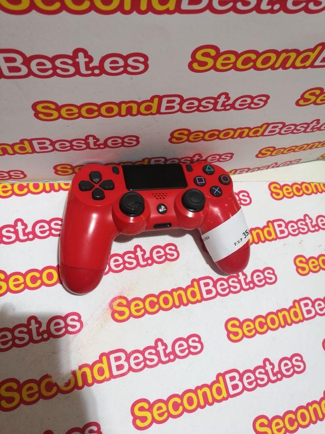 Mando PS4 rojo