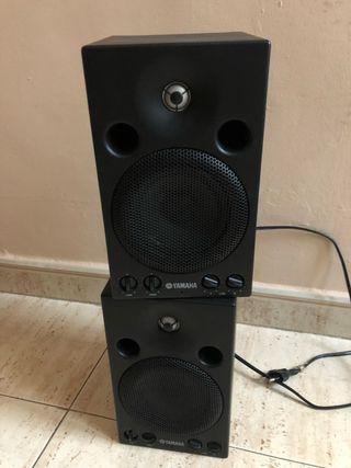 Monitores autoamplificados Yamaha MSP3