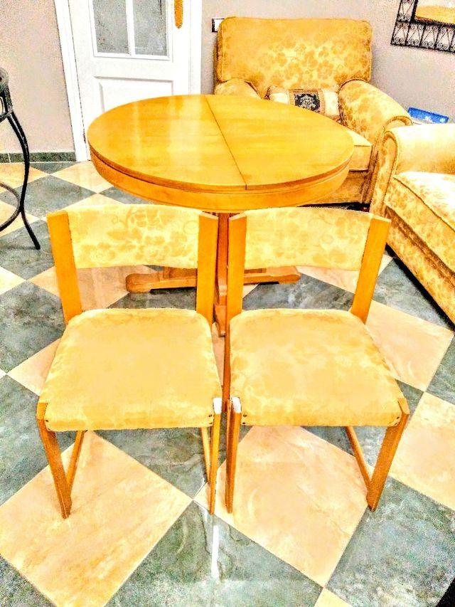 Vendo mesa comedor y seis sillas de segunda mano por 160 ...