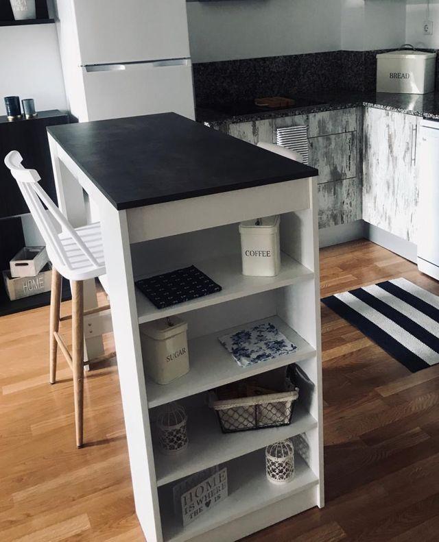 Mesa alta cocina de segunda mano por 70 € en Zaragoza en ...
