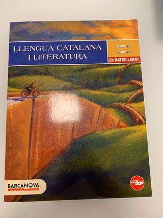 Llibre de Llengua Catalana i Literatura 2n Batx