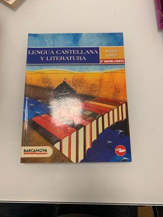 Libro Lengua Castellana y Literatura (2ndo Bach)