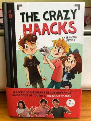 "Libro de ""The crazy haacks"""