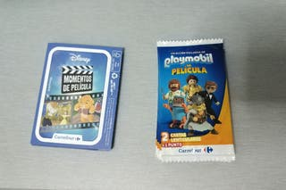 Cromos Carrefour Playmobil y Disney