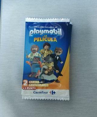 Cromos Carrefour Playmobil y Disney