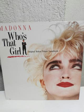 MADONNA '' Who's That Girl ''