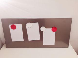 pizarra - tablón magnético ikea