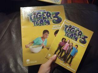 Libros de Ingles Tiger team 3
