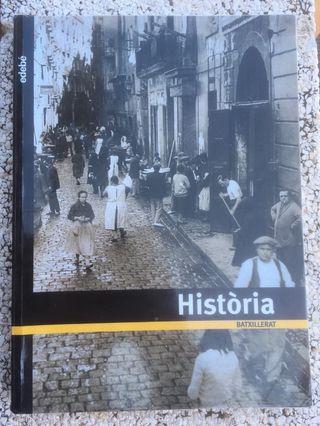 Libro de Historia Bachillerato Edebé