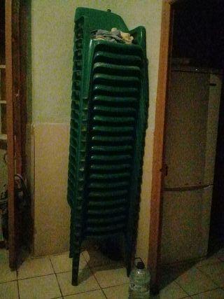 sillas de plástico 21 sillas contacto 617993185