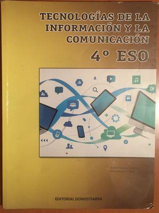 LIBRO DE TEXTO TECNOLOGÍA DE LA INFORMACIÓN Y LA