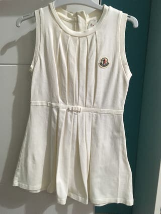 Vestido niña Moncler talla 3-4