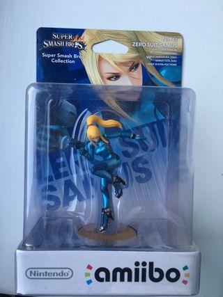 Samus Suit Zero figura amiibo