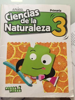Ciencias de la naturaleza Anaya 3 pieza a pieza