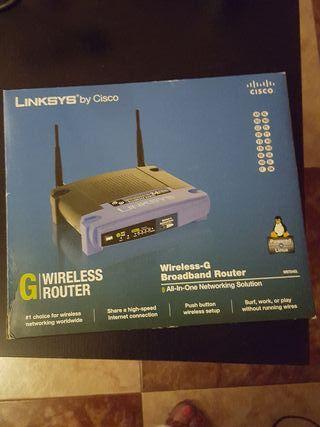 """chollo router wifi """"cisco"""" 4 puertos"""