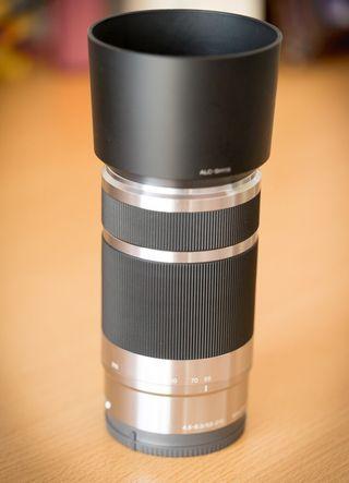 Objetivo Sony E 55-210 OSS en perfecto estado