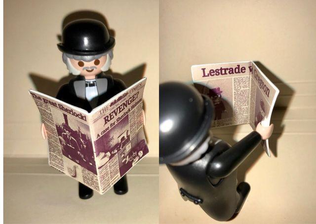 Playmobil periódico Sherlock