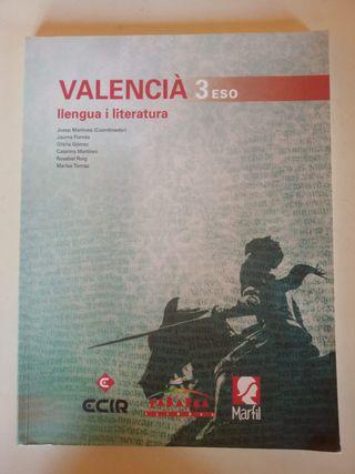 Valencià: llengua i literatura 3ºESO