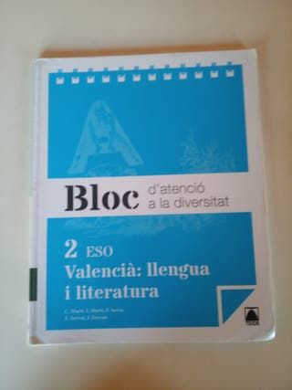Valencià: llebgua i literatura 2ºESO