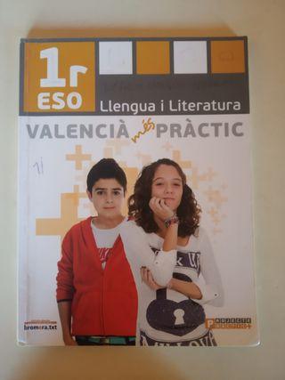 Valencià: llengua i literatura 1ºESO