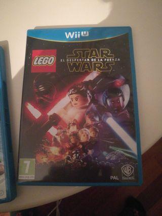 star wars lego Wii U