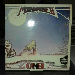 DISCO VINILO CAMEL,MOONMADNESS.