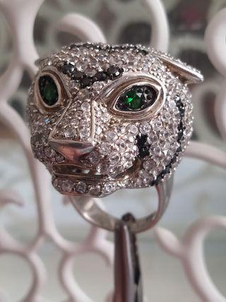 anillo exclusivo de plata