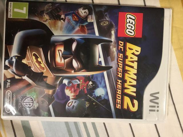 Juego Wii Lego Batman 2