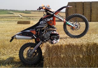 KTM 450exc SIX DAYS 2009