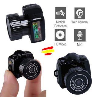 Mini DV Camara HD Espia Video foto Micro SD