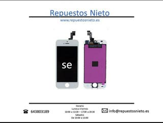 Pantalla iPhone 5S - SE en color blanco