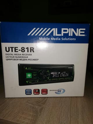 Radio USB MP3 - ALPINE