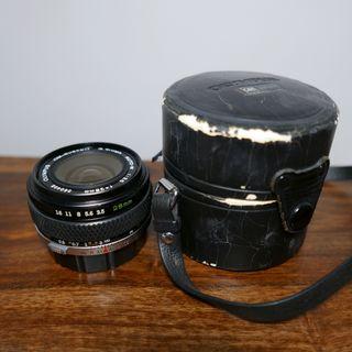 Objetivo Zuiko 28 mm f3.5 Olympus OM