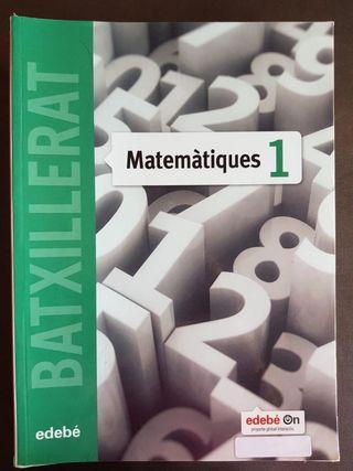 Libro MATEMÁTICAS EDEBÉ 1° BACHILLERATO