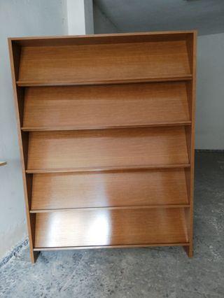 Expositor de libros, revistar o catálogos comercia
