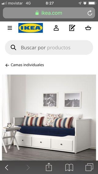 Diván Hemnes Ikea