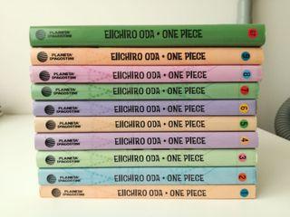 Cómics manga One piece