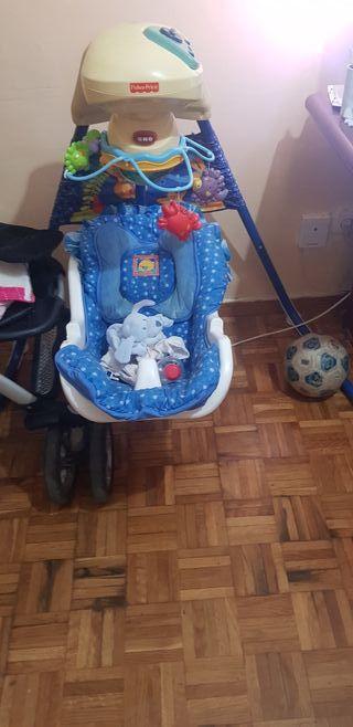vendo columpio bebe