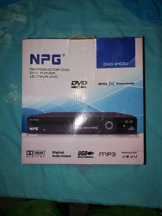 Reproductor de DVD NPG