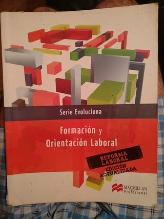 libro, formación y orientación laboral