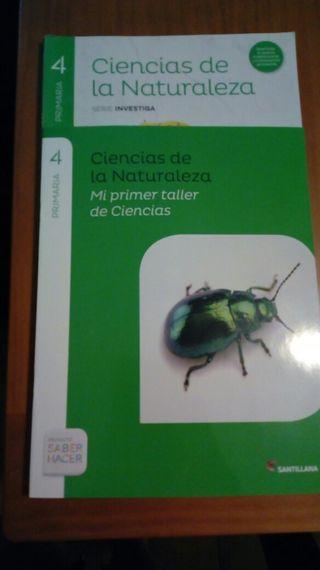 Ciencias Naturales de 4 primaria. SANTILLANA.