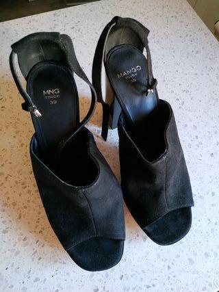 Zapatos tacón Mango T39